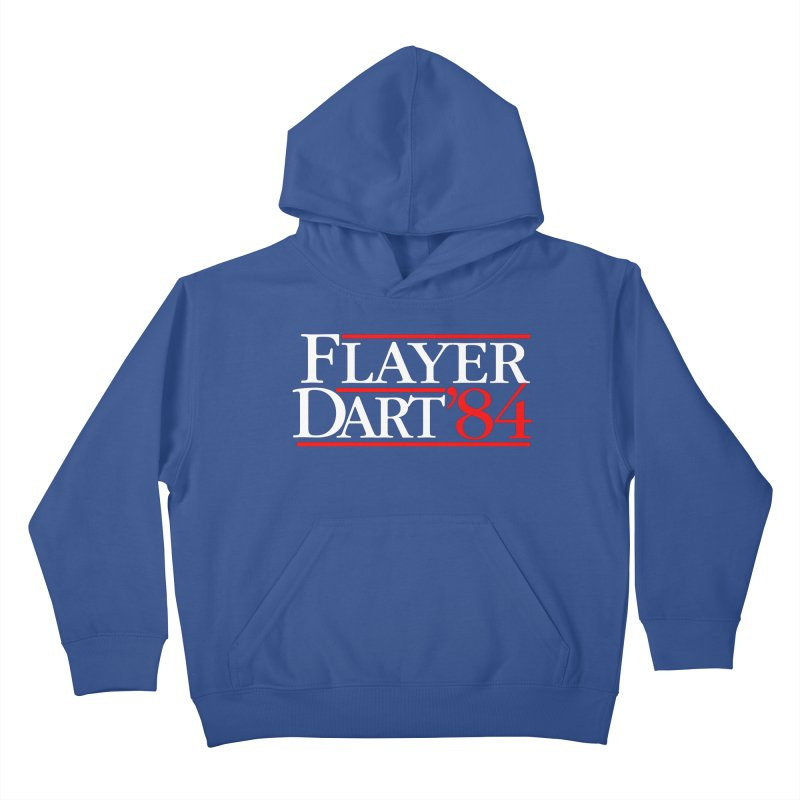 Flayer / Dart '84 Kids Pullover Hoody by The Corey Press