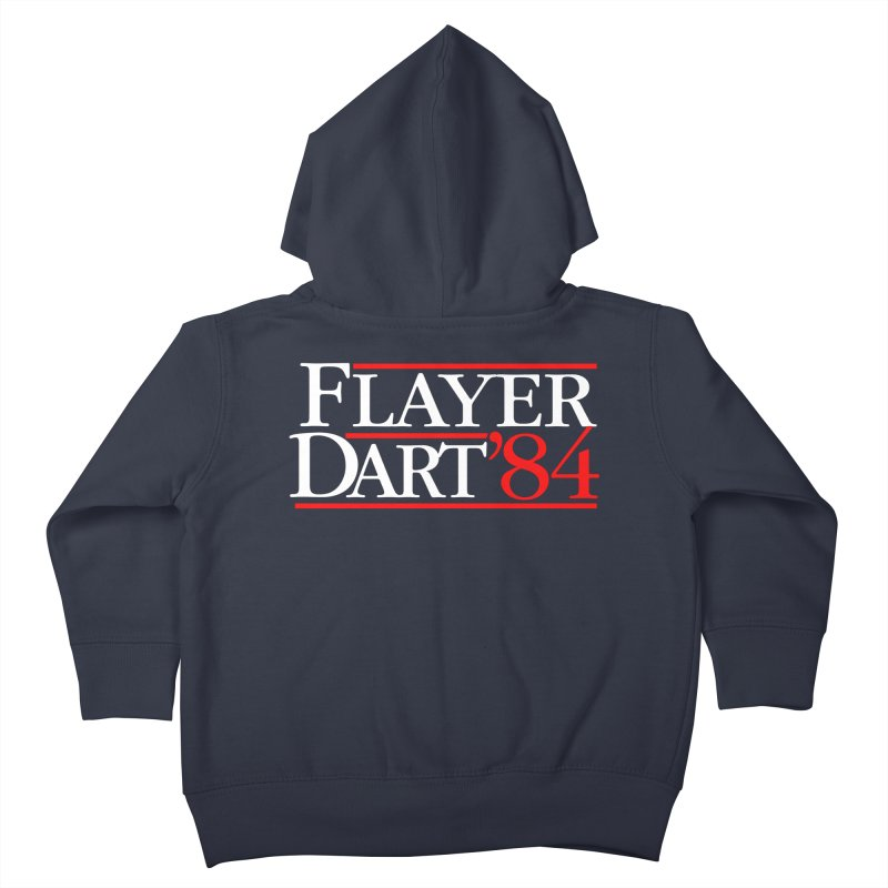 Flayer / Dart '84 Kids Toddler Zip-Up Hoody by The Corey Press