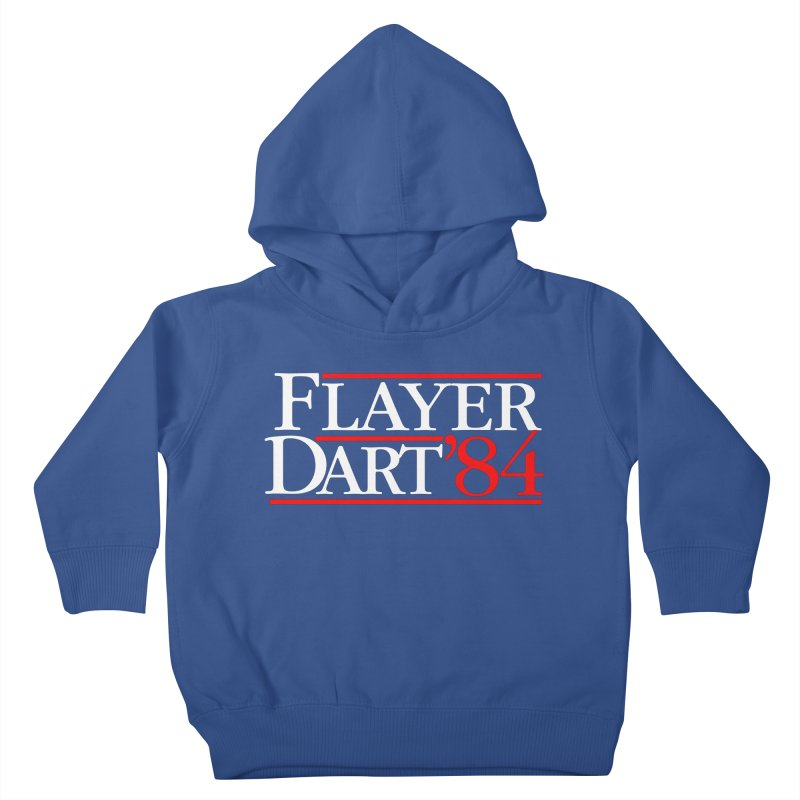 Flayer / Dart '84 Kids Toddler Pullover Hoody by The Corey Press