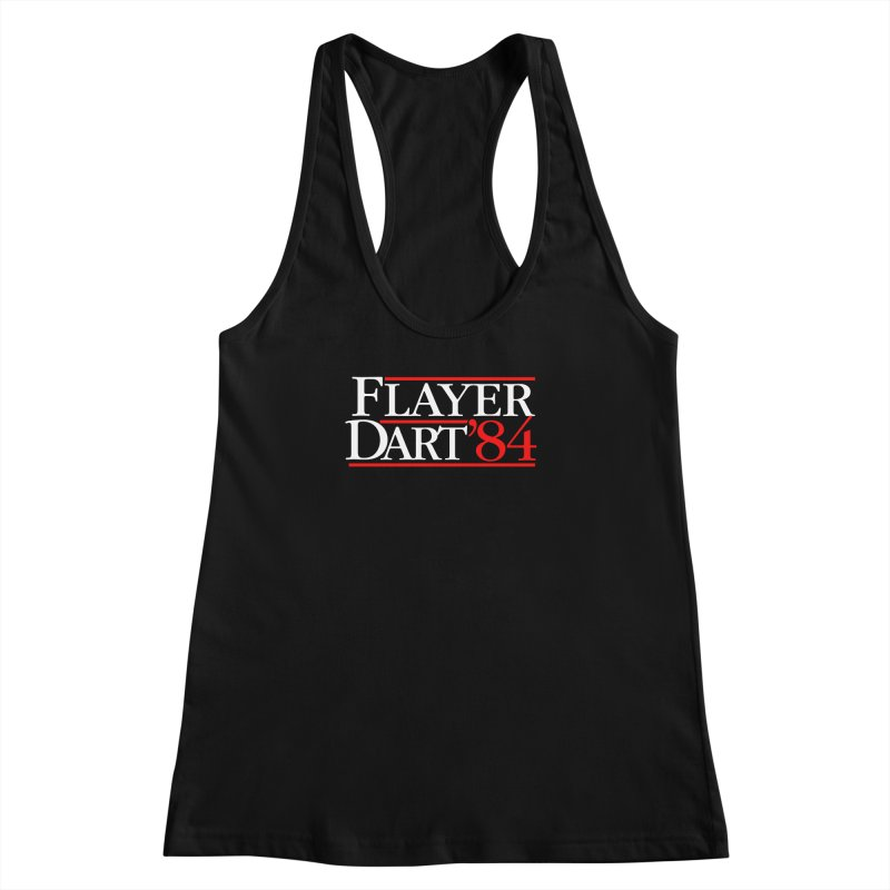 Flayer / Dart '84 Women's Racerback Tank by The Corey Press