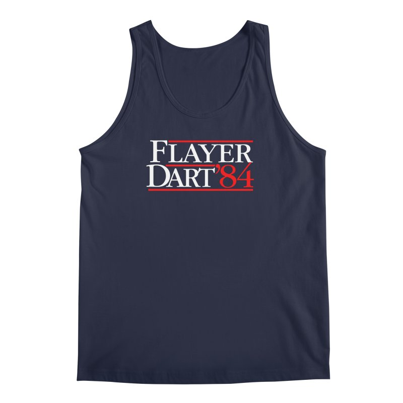Flayer / Dart '84 Men's Regular Tank by The Corey Press