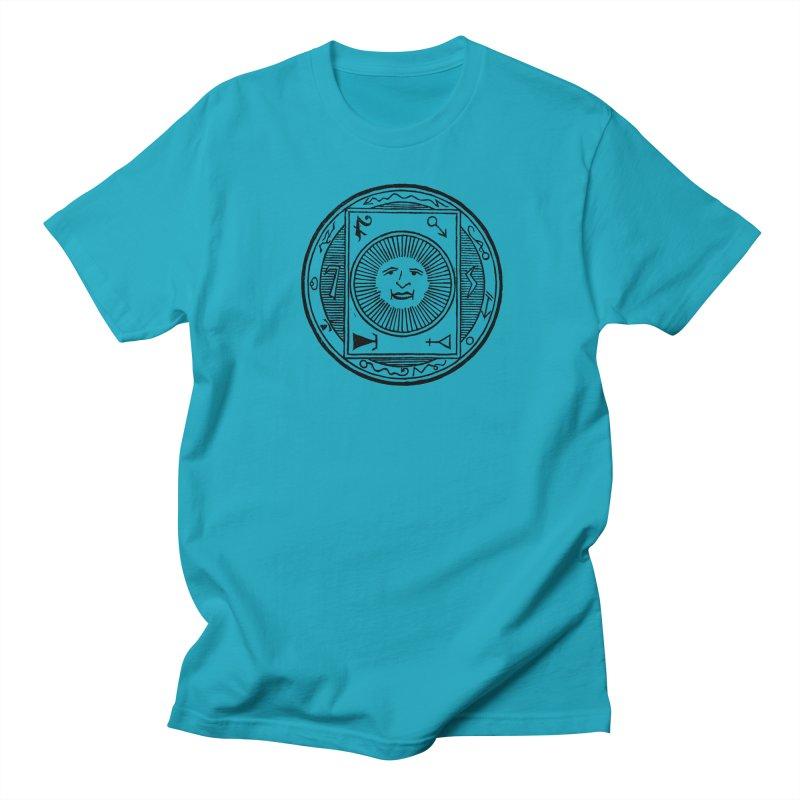 Figure 10 - Black Line Men's Regular T-Shirt by The Corey Press