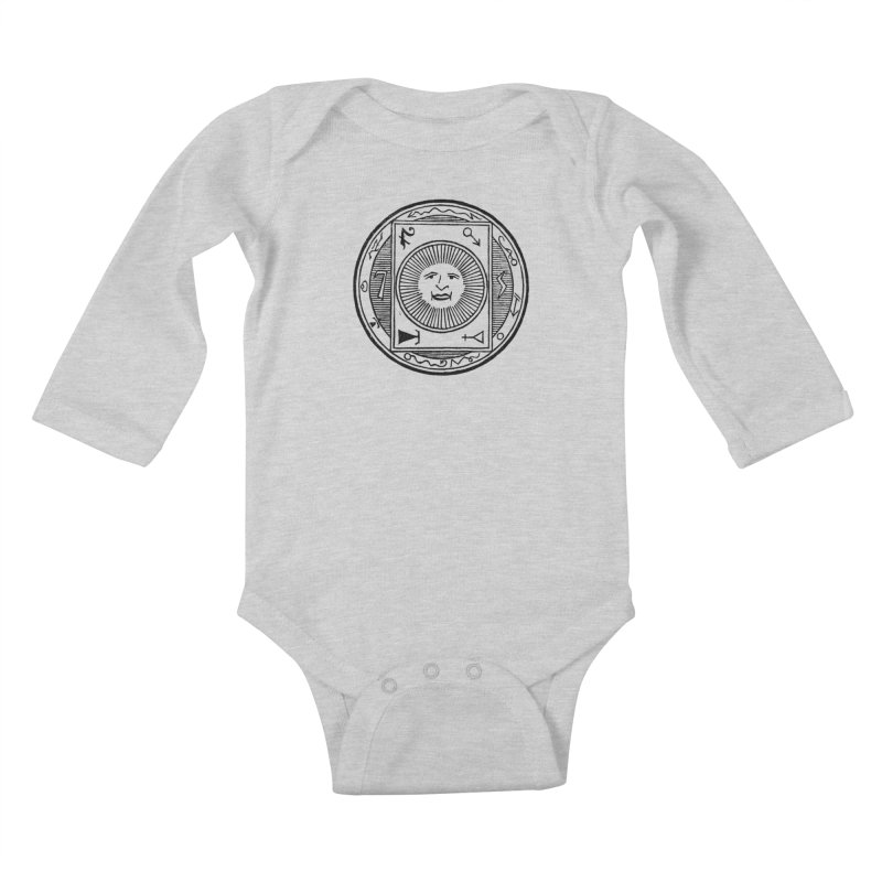 Figure 10 - Black Line Kids Baby Longsleeve Bodysuit by The Corey Press