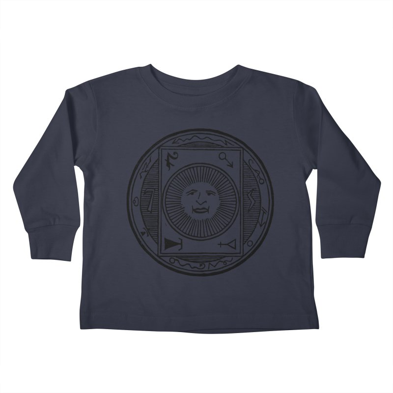 Figure 10 - Black Line Kids Toddler Longsleeve T-Shirt by The Corey Press