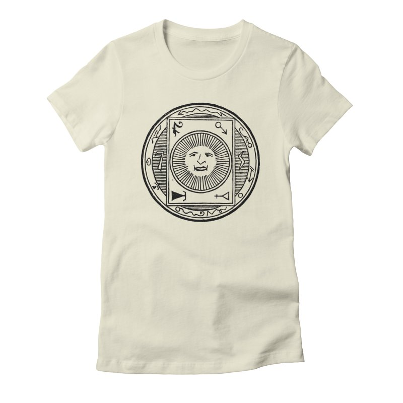 Figure 10 - Black Line Women's Fitted T-Shirt by The Corey Press
