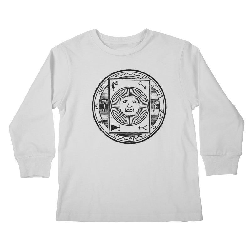Figure 10 - Black Line Kids Longsleeve T-Shirt by The Corey Press
