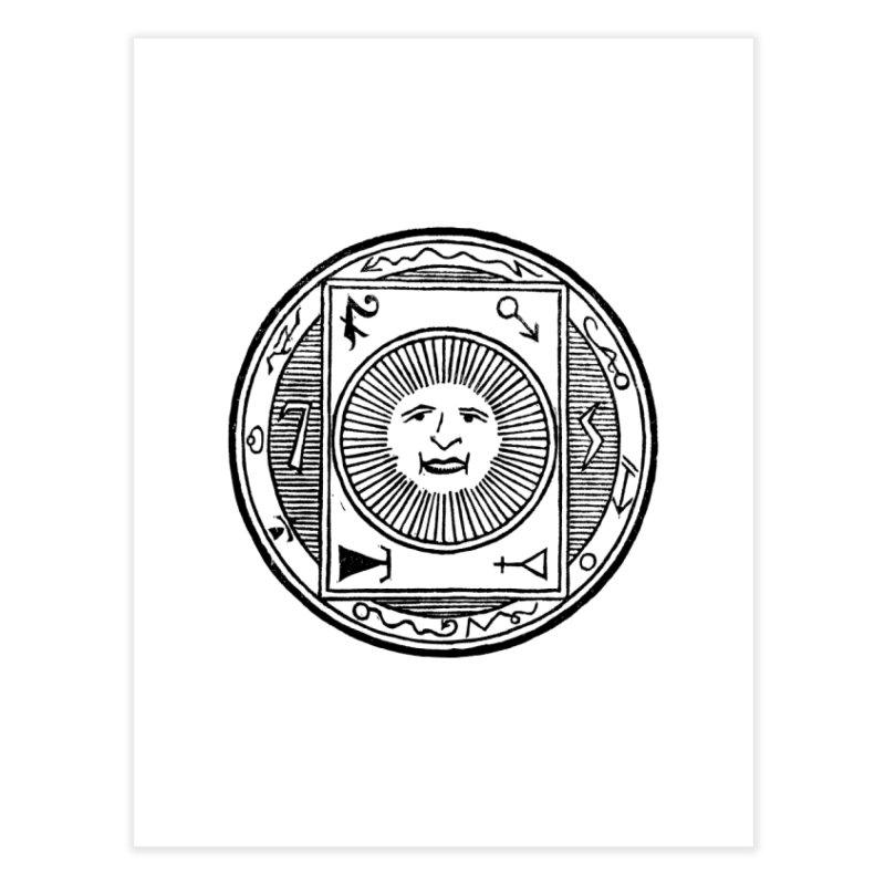 Figure 10 - Black Line Home Fine Art Print by The Corey Press