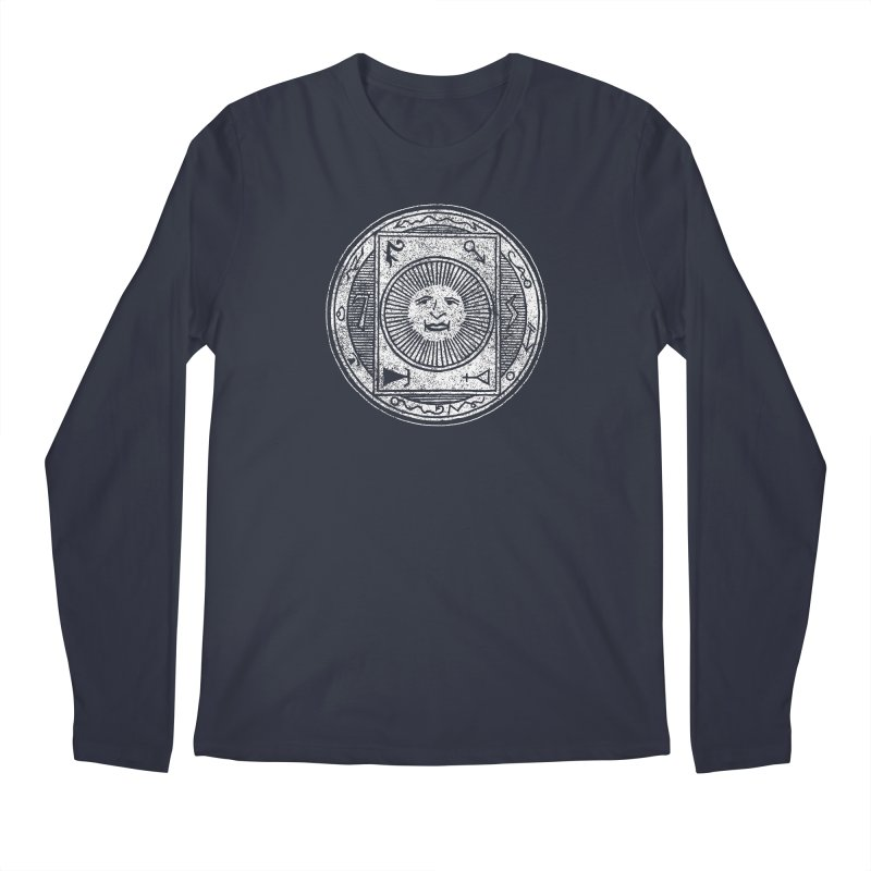 Figure 10 - White Base Men's Regular Longsleeve T-Shirt by The Corey Press