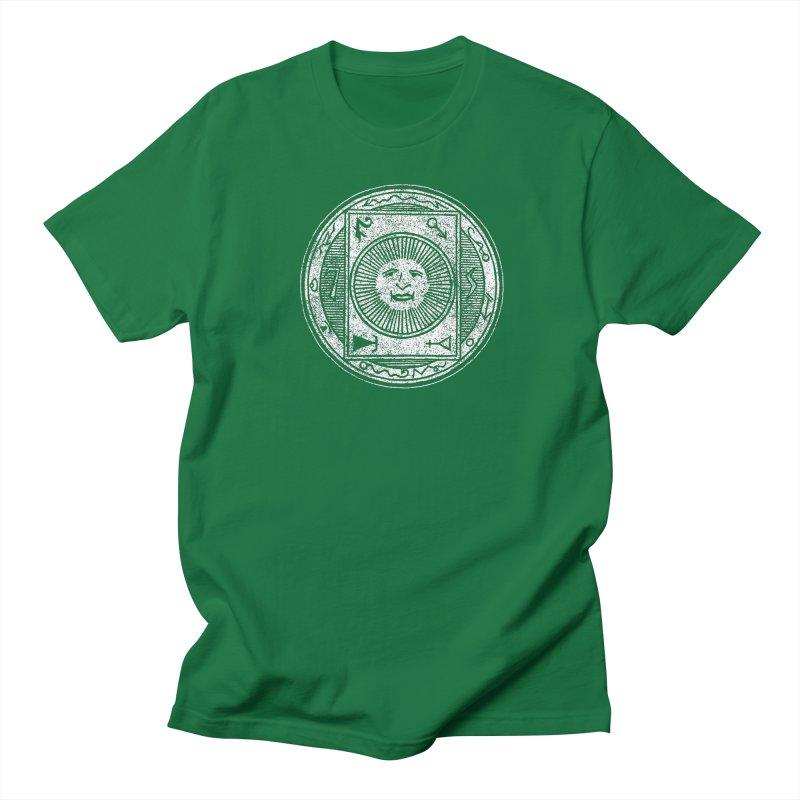 Figure 10 - White Base Men's Regular T-Shirt by The Corey Press