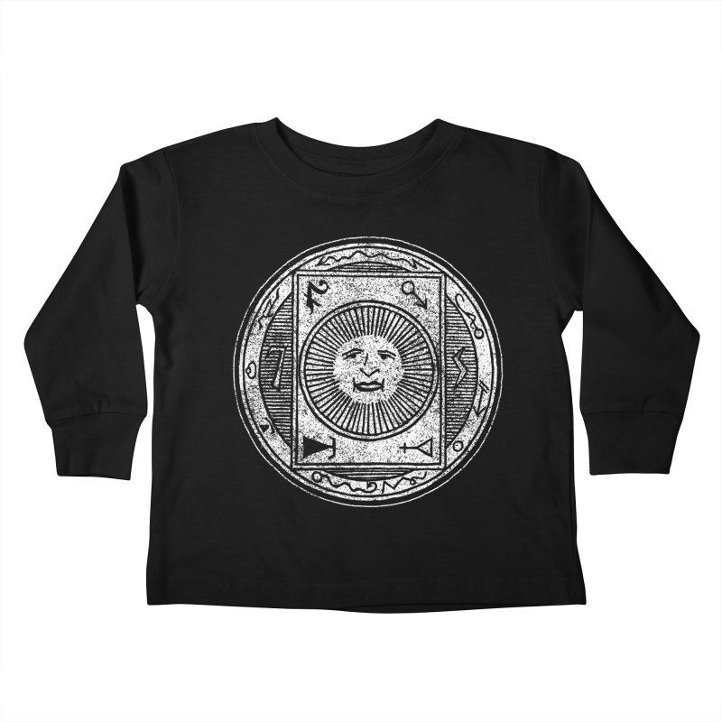 Figure 10 - White Base Kids Toddler Longsleeve T-Shirt by The Corey Press