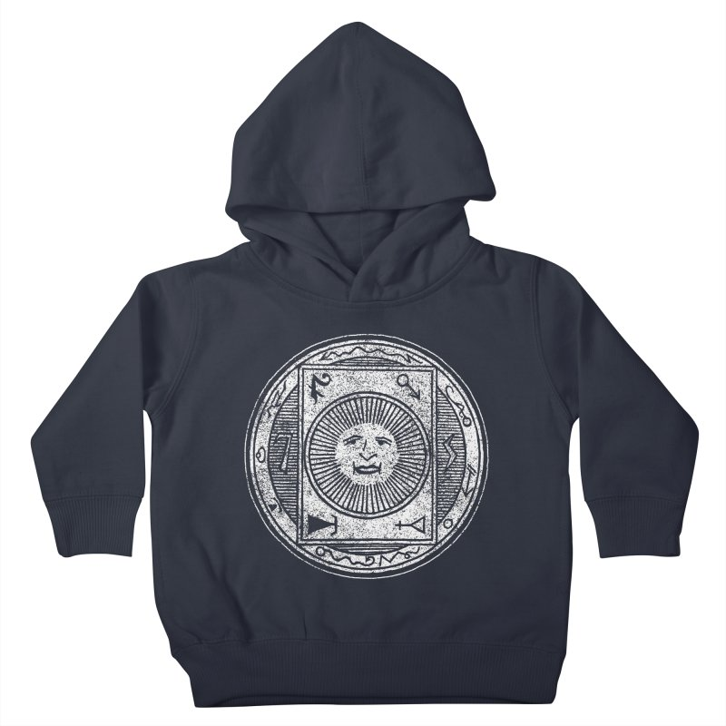 Figure 10 - White Base Kids Toddler Pullover Hoody by The Corey Press