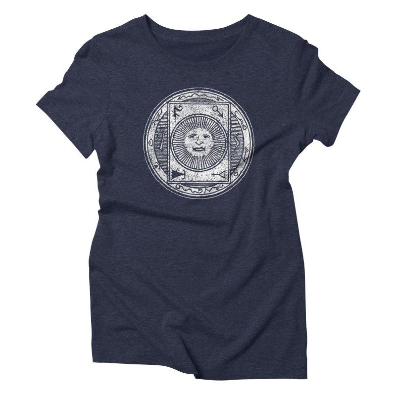 Figure 10 - White Base Women's Triblend T-Shirt by The Corey Press