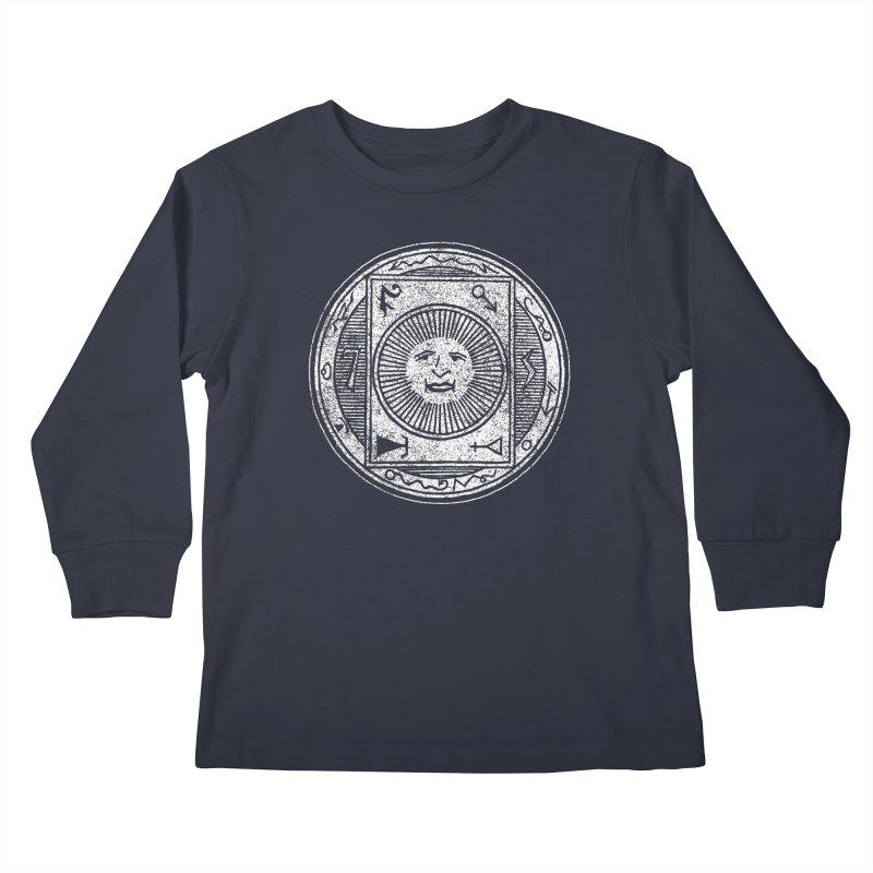 Figure 10 - White Base Kids Longsleeve T-Shirt by The Corey Press