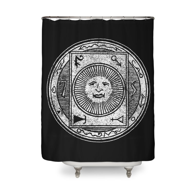 Figure 10 - White Base Home Shower Curtain by The Corey Press