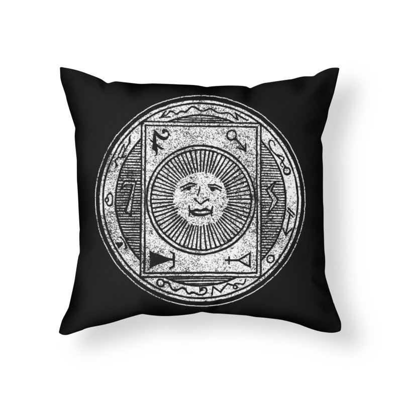 Figure 10 - White Base Home Throw Pillow by The Corey Press