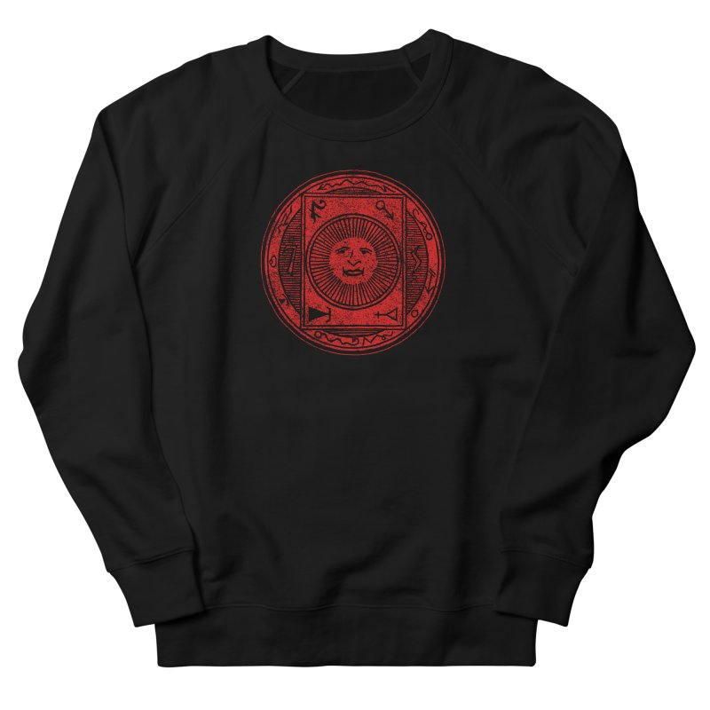 Figure 10 - Red Base Men's French Terry Sweatshirt by The Corey Press