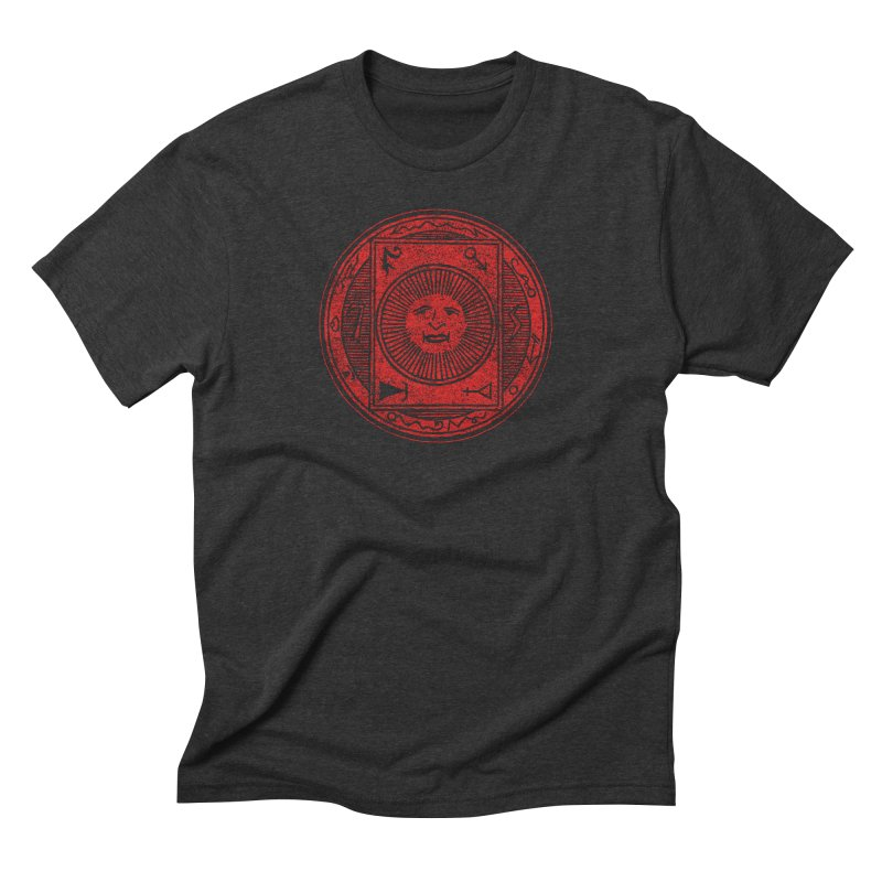 Figure 10 - Red Base Men's Triblend T-Shirt by The Corey Press