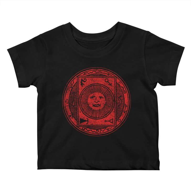 Figure 10 - Red Base Kids Baby T-Shirt by The Corey Press