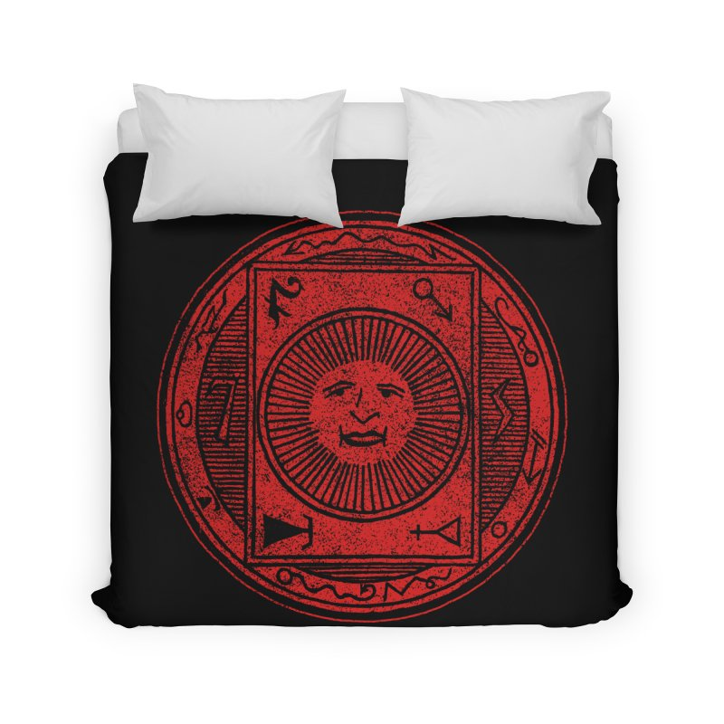 Figure 10 - Red Base Home Duvet by The Corey Press