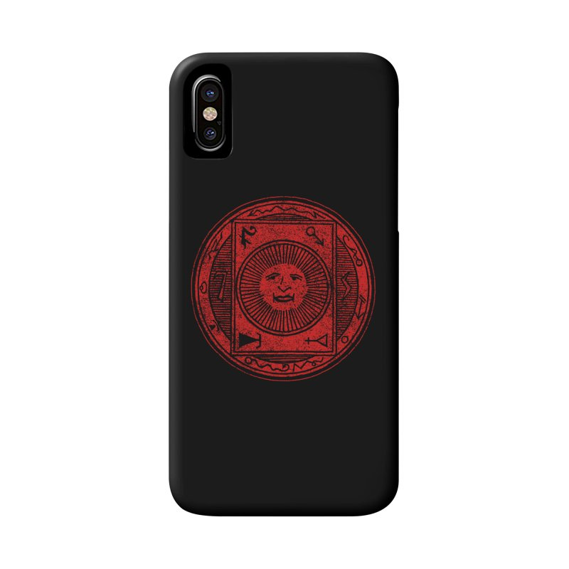 Figure 10 - Red Base Accessories Phone Case by The Corey Press