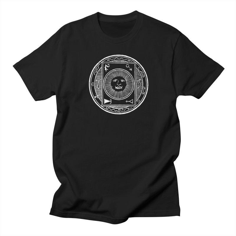 Figure 10 - White Line Men's T-Shirt by The Corey Press