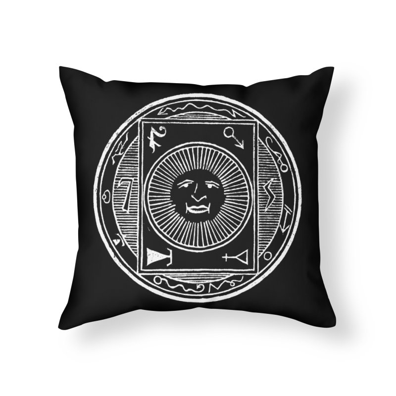 Figure 10 - White Line Home Throw Pillow by The Corey Press