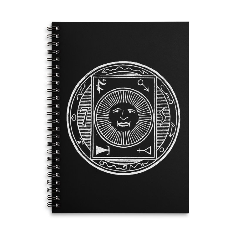 Figure 10 - White Line Accessories Lined Spiral Notebook by The Corey Press
