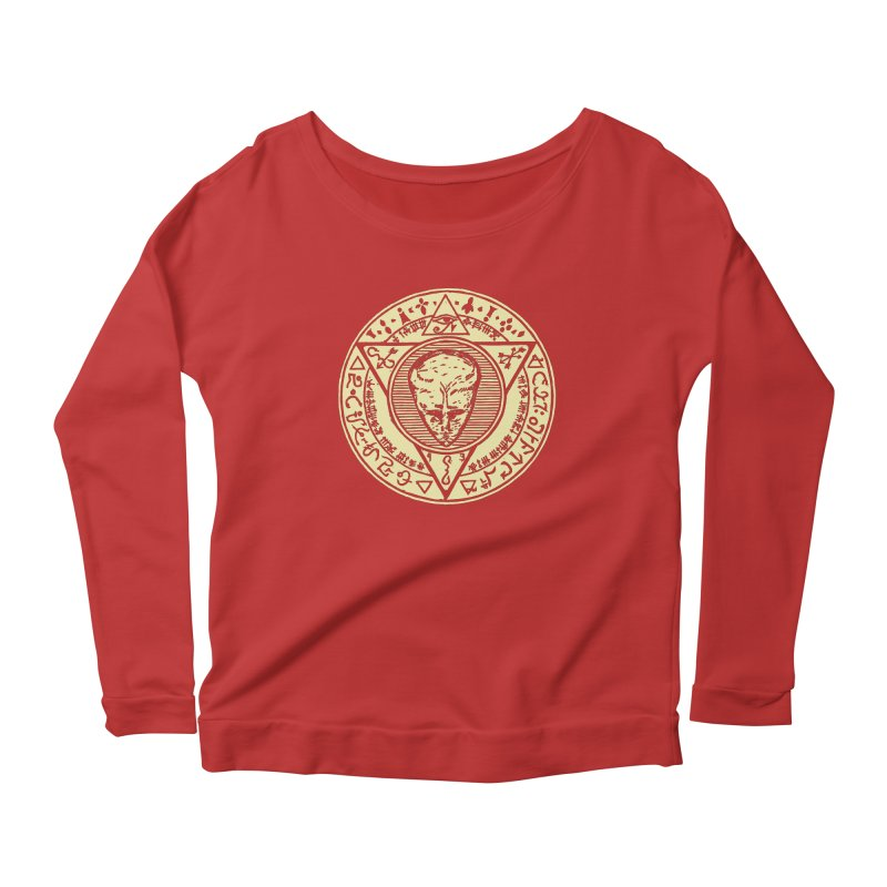 Seal of LAM Women's Scoop Neck Longsleeve T-Shirt by The Corey Press