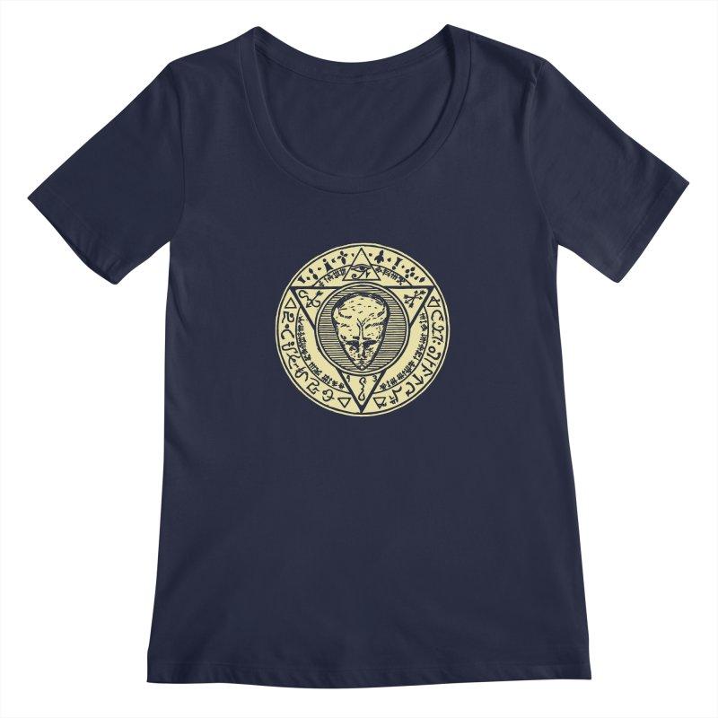 Seal of LAM Women's Regular Scoop Neck by The Corey Press