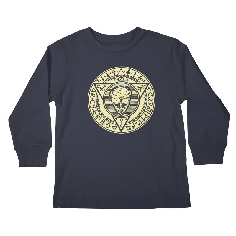 Seal of LAM Kids Longsleeve T-Shirt by The Corey Press