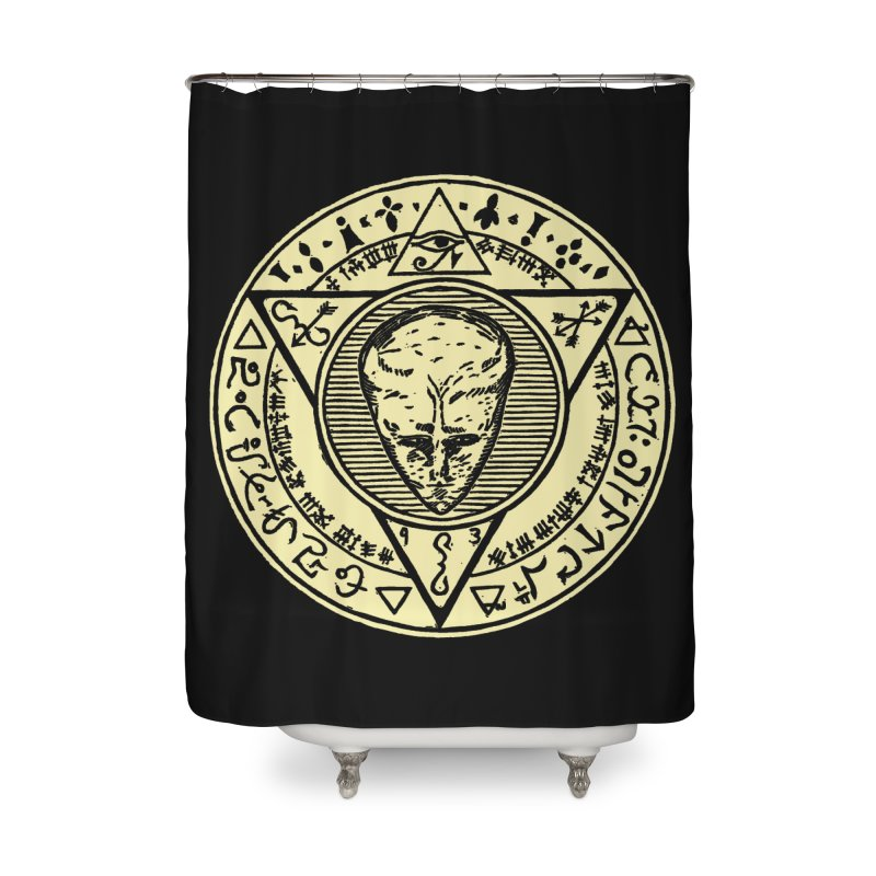 Seal of LAM Home Shower Curtain by The Corey Press