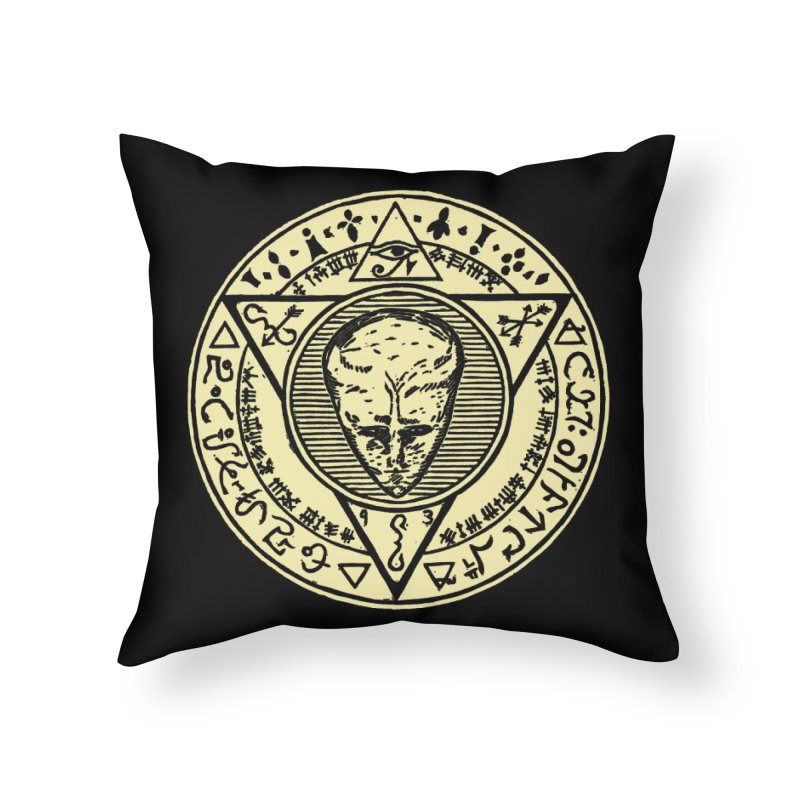 Seal of LAM Home Throw Pillow by The Corey Press