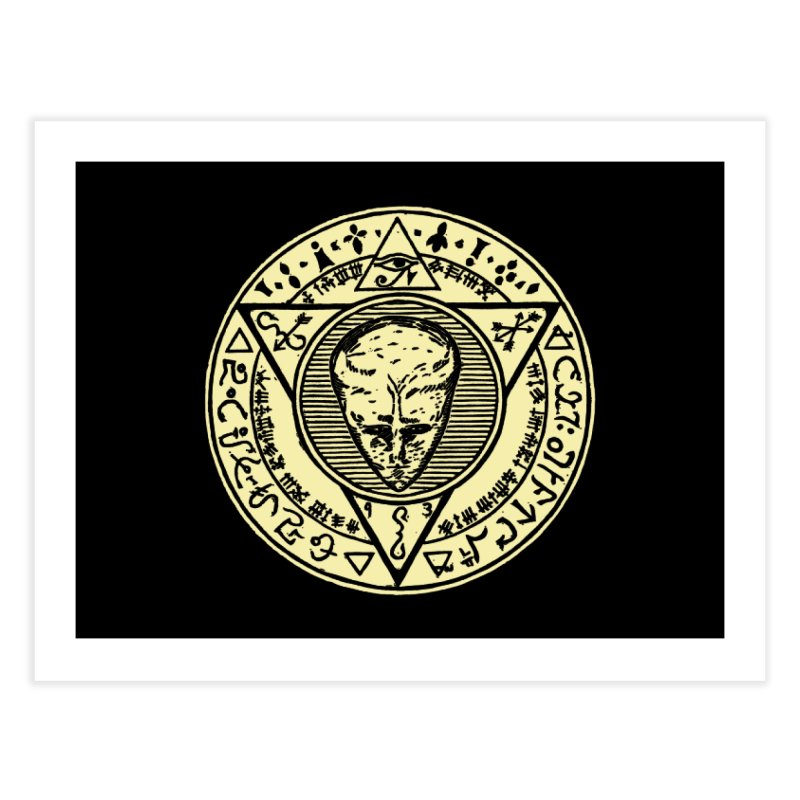 Seal of LAM Home Fine Art Print by The Corey Press