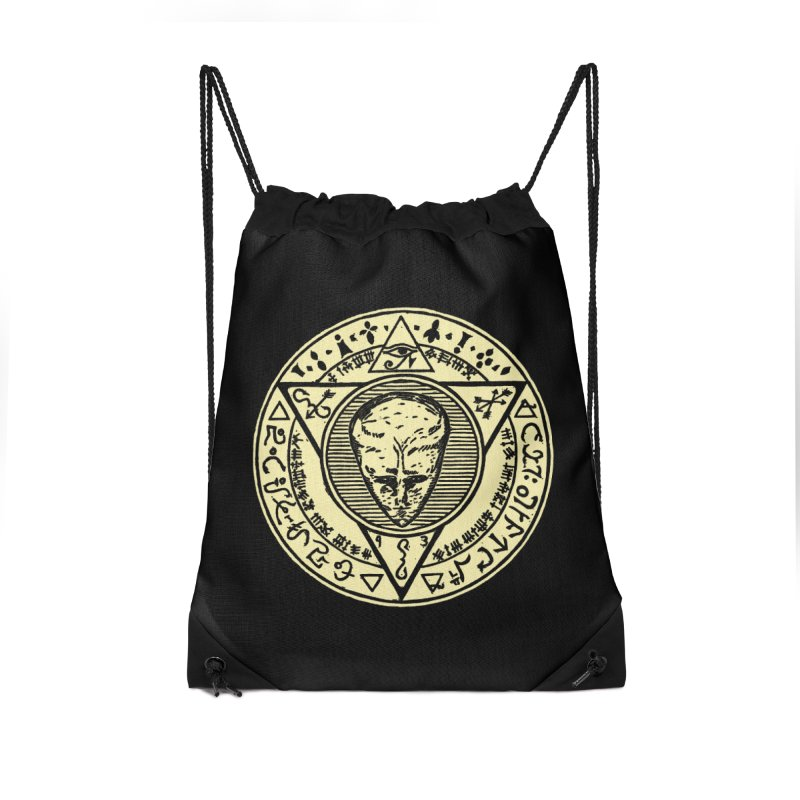 Seal of LAM Accessories Drawstring Bag Bag by The Corey Press