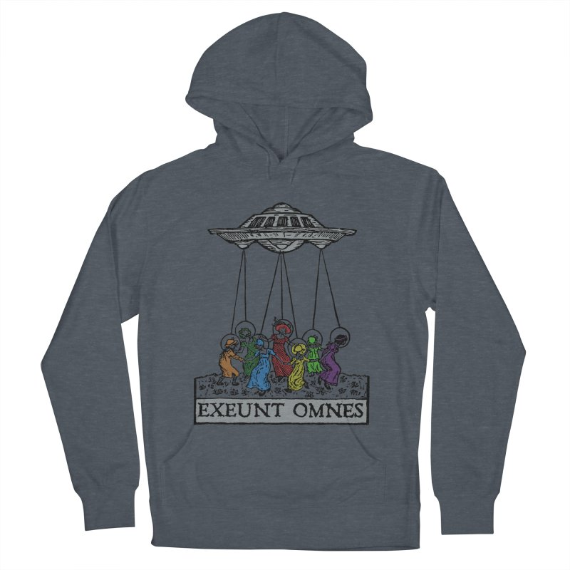 Exeunt Omnes Women's French Terry Pullover Hoody by The Corey Press