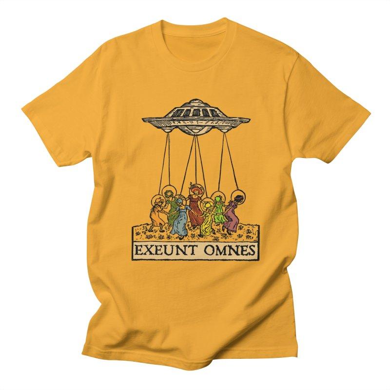 Exeunt Omnes Men's Regular T-Shirt by The Corey Press