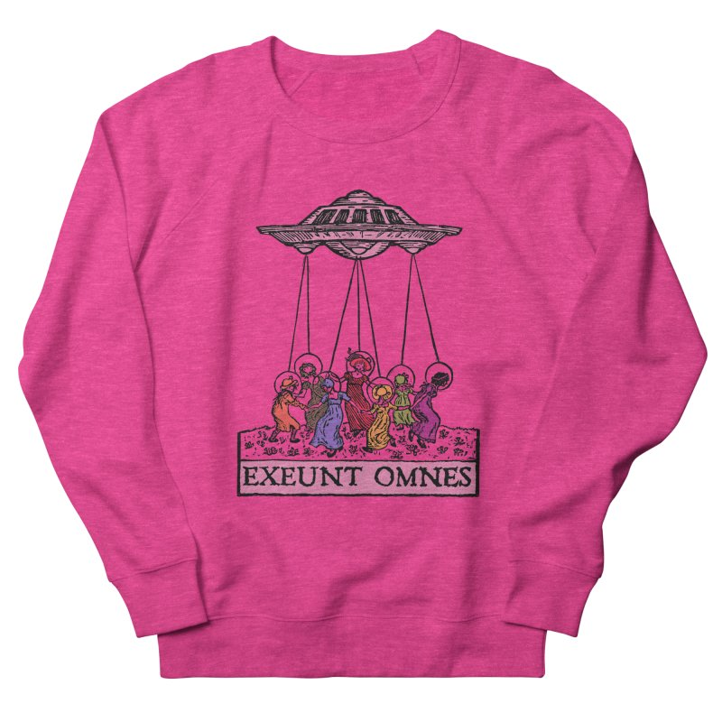 Exeunt Omnes Women's French Terry Sweatshirt by The Corey Press