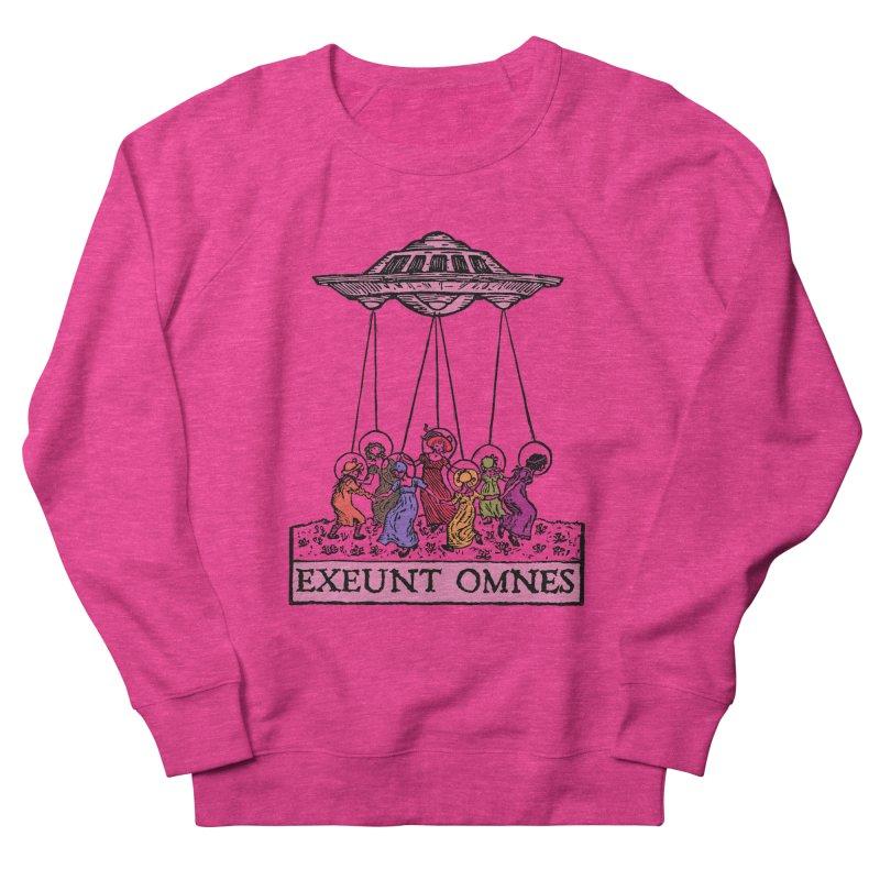 Exeunt Omnes Men's French Terry Sweatshirt by The Corey Press