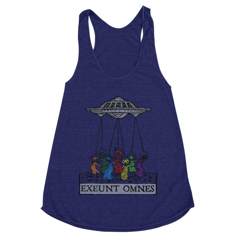 Exeunt Omnes Women's Tank by The Corey Press
