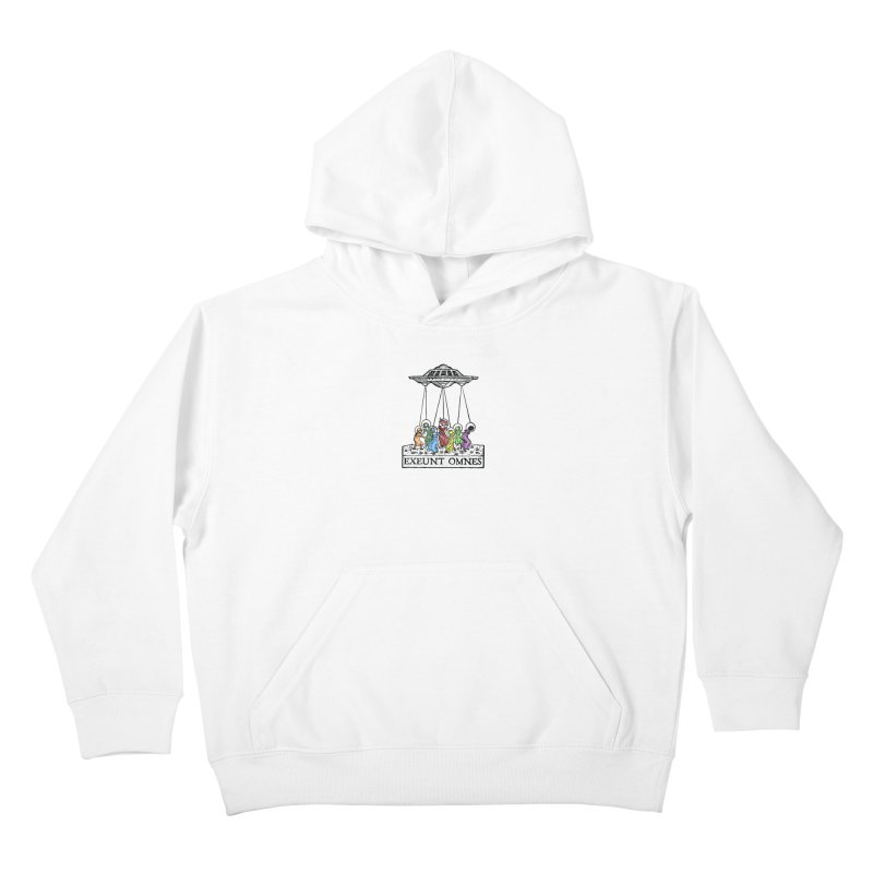 Exeunt Omnes Kids Pullover Hoody by The Corey Press