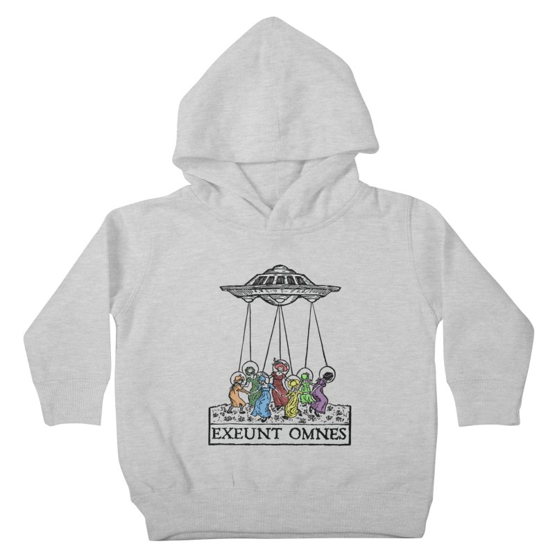 Exeunt Omnes Kids Toddler Pullover Hoody by The Corey Press