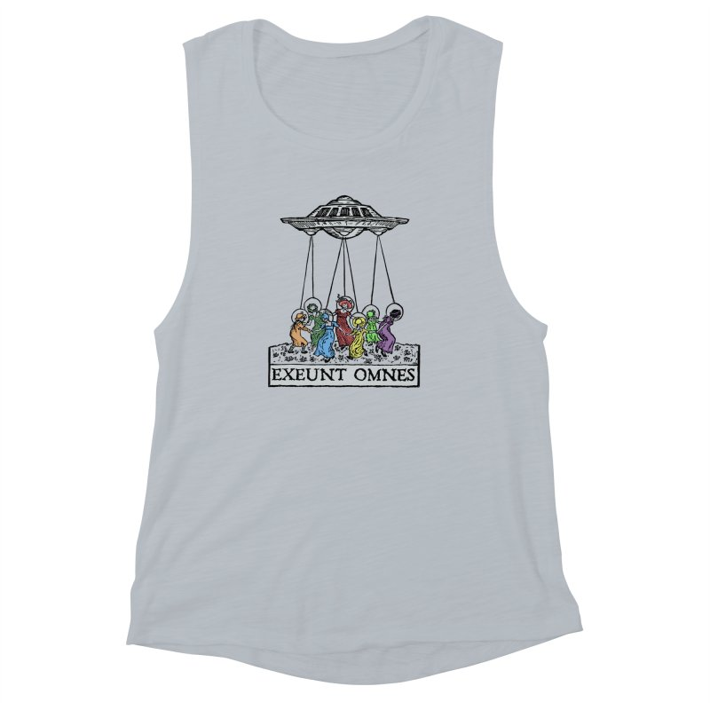 Exeunt Omnes Women's Muscle Tank by The Corey Press