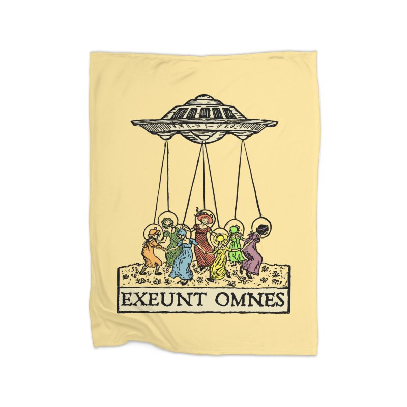 Exeunt Omnes Home Blanket by The Corey Press