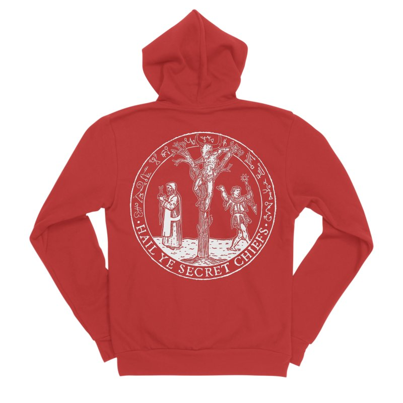 The Oracle Tree Men's Zip-Up Hoody by The Corey Press