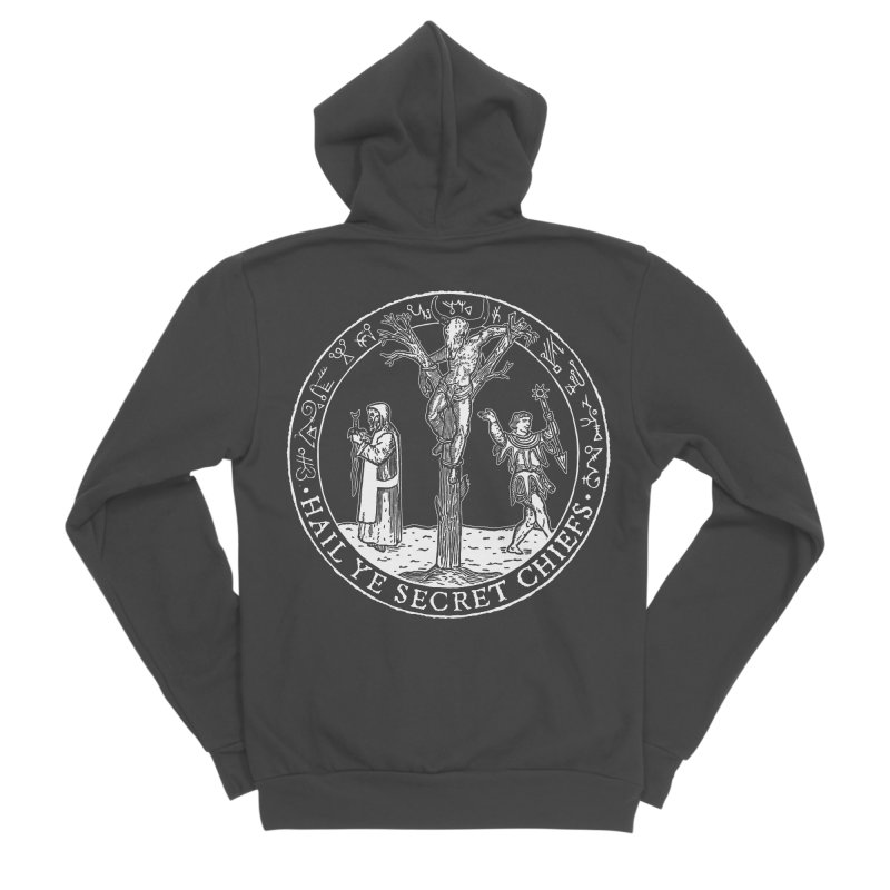 The Oracle Tree Men's Sponge Fleece Zip-Up Hoody by The Corey Press