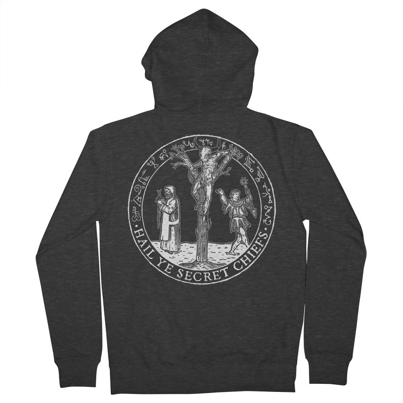 The Oracle Tree Men's French Terry Zip-Up Hoody by The Corey Press