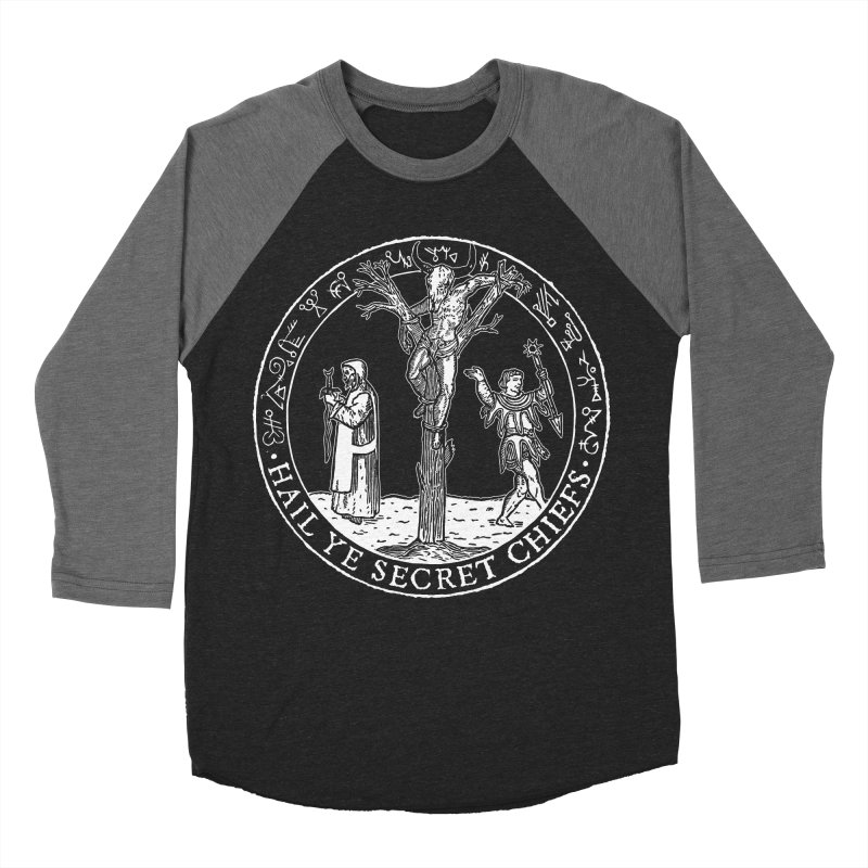 The Oracle Tree Women's Baseball Triblend Longsleeve T-Shirt by The Corey Press