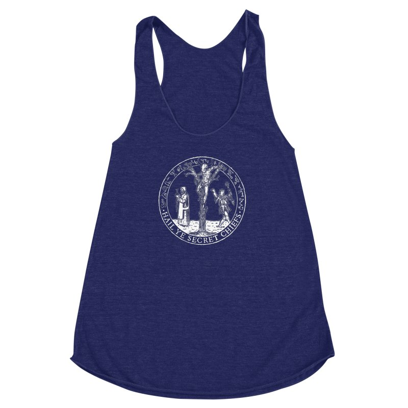 The Oracle Tree Women's Racerback Triblend Tank by The Corey Press