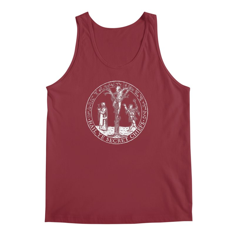 The Oracle Tree Men's Regular Tank by The Corey Press
