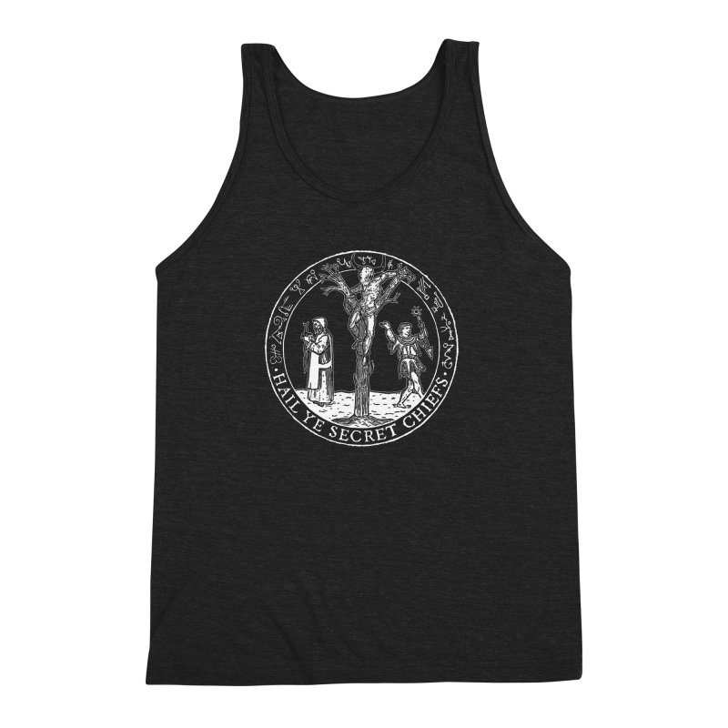 The Oracle Tree Men's Triblend Tank by The Corey Press